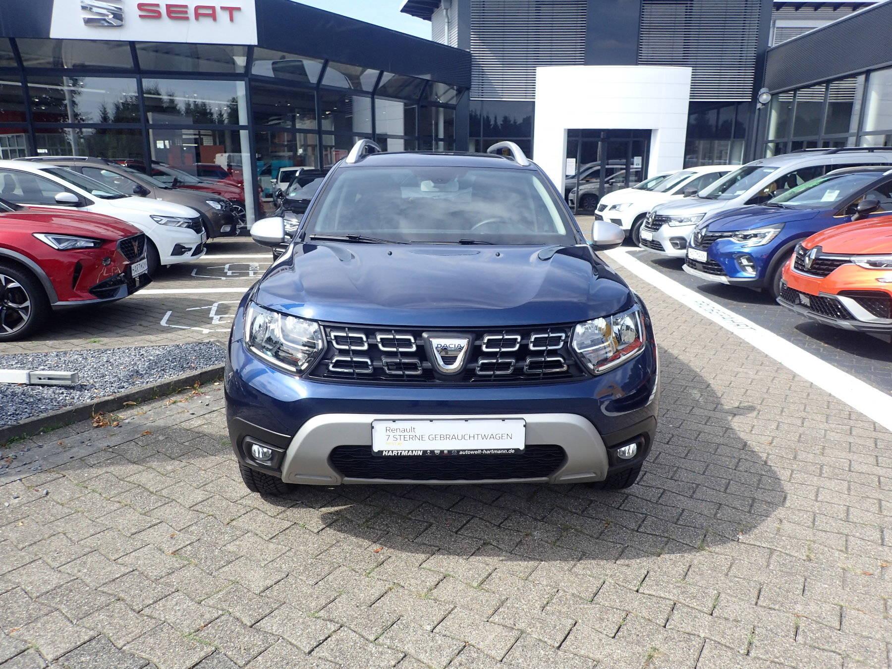 Dacia Duster Prestige SCe 115 2WD Technik-Paket, Jahr 2018, Benzin