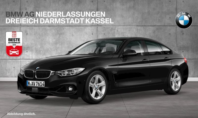 BMW 435d xDrive Gran Coupé Advantage Head-Up HiFi, Jahr 2016, Diesel