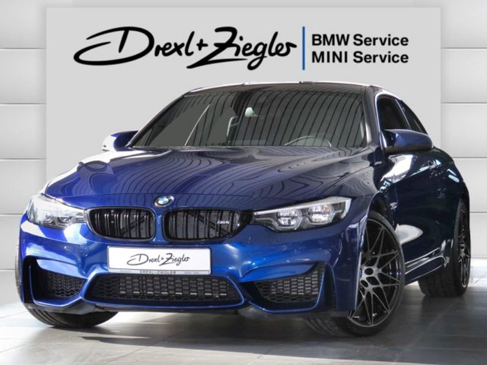 BMW M4 Coupe Competition DKG M Drivers H&K DAB, Jahr 2019, Benzin