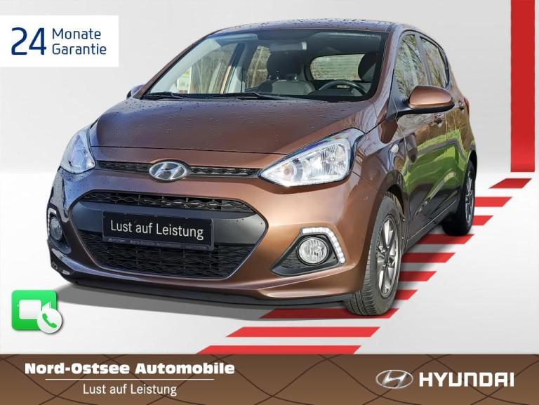 Hyundai i10 1.0 YES! Tempomat Sitzheizung Lenkradhzg, Jahr 2016, Benzin