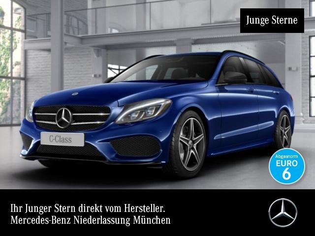 Mercedes-Benz C 220 d T 4M AMG Burmester COMAND ILS LED Night 9G, Jahr 2017, Diesel