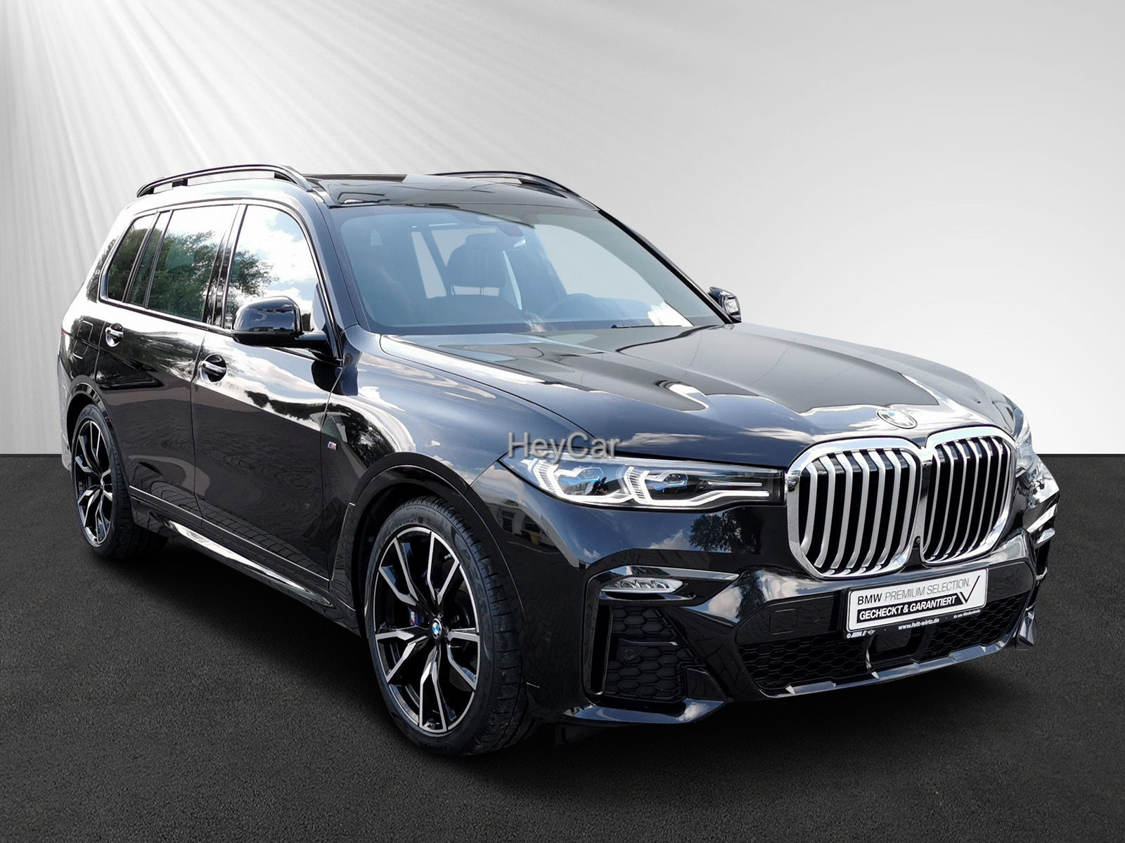 BMW X7 xDrive40i M-Sport AHK Leas. ab 999,- br.o.Anz, Jahr 2019, Benzin