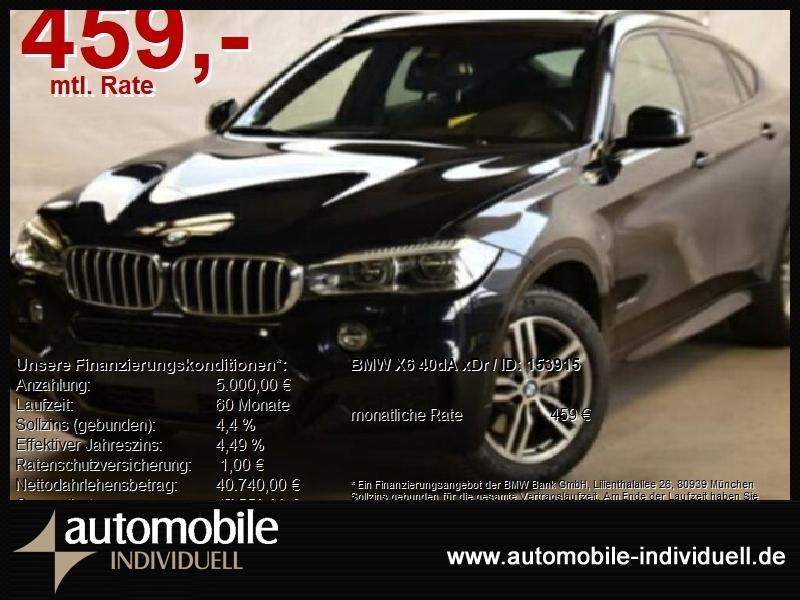 BMW X6 40dA xDr M Sportpaket EU6 LED AHK ACC HuD, Jahr 2017, Diesel