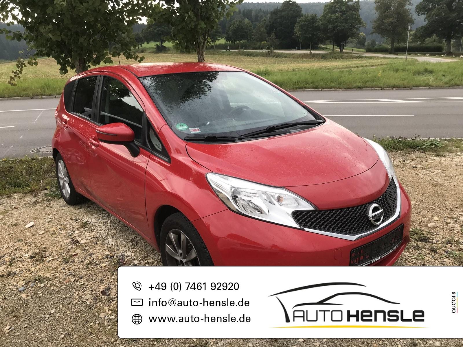 Nissan Note Acenta, Jahr 2015, Benzin
