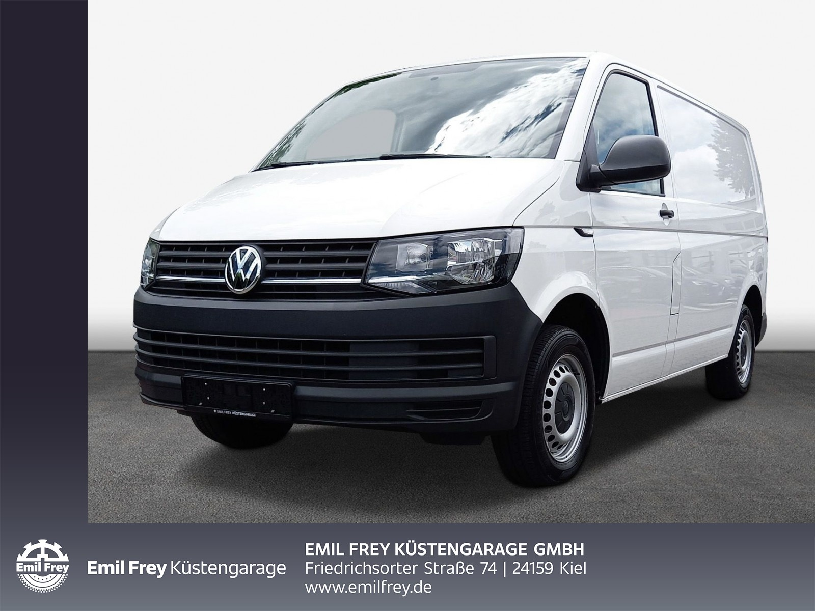 Volkswagen T6 Kasten T6 Eco Profi 2,0 TDI AHK, el. FH, Jahr 2017, Diesel
