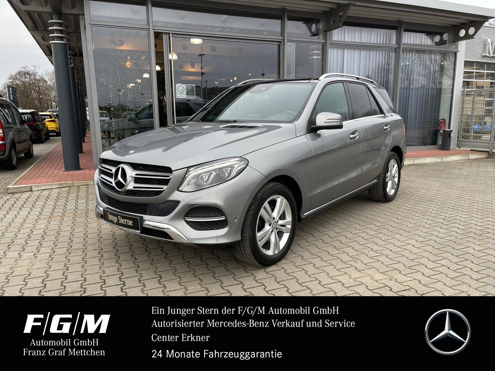 Mercedes-Benz GLE 350 d 4M EXCLUSIVE/Navi/Pano/ILS/Standheizun, Jahr 2015, Diesel