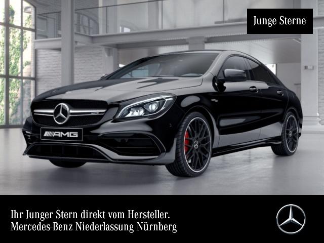 Mercedes-Benz CLA 45 AMG 4M Coupé PerfAbGas DISTRONIC Night, Jahr 2018, Benzin