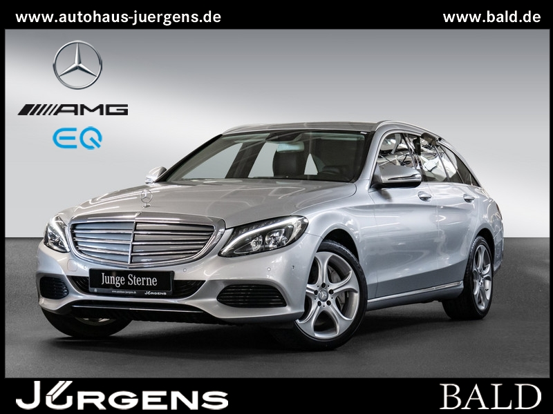 Mercedes-Benz C 350 e T Exclusive/Navi/LED/Park-Assist/Airm/18, Jahr 2016, Hybrid