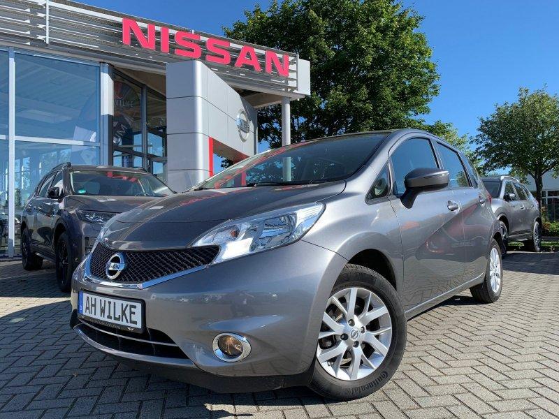 Nissan Note 1.2 Acenta/KLIMAAUTO/RADIO/START-STOP, Jahr 2014, Benzin