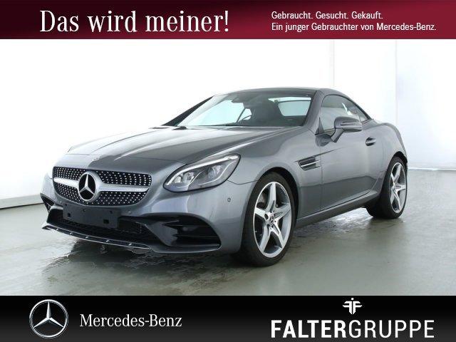 Mercedes-Benz SLC 300 AMG Comand ILS Memo AIRSCARF Tot PTS SHZ, Jahr 2019, Benzin
