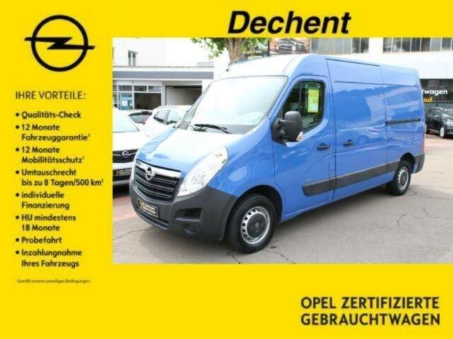 Opel Movano B Kasten L2H2, Holzboden,AHK, Jahr 2014, Diesel