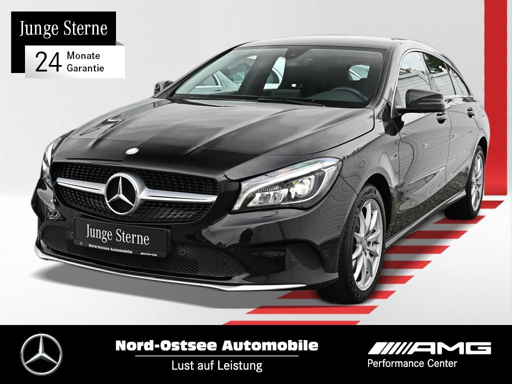 Mercedes-Benz CLA 180 SB Navi 7G-DCT LED Tempomat Sitzheizung, Jahr 2017, Benzin