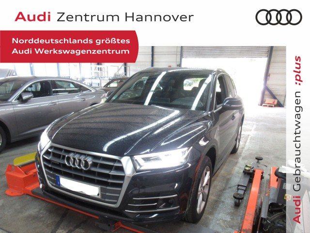 Audi Q5 40 TDI qu. sport, ACC, Pano, Alcantara, LED, virtual, Jahr 2019, Diesel