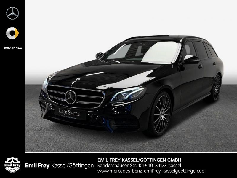 Mercedes-Benz E 450 4M T AMG+Night+Wide+MBeam+PANO+Distr+HiFi, Jahr 2019, Benzin