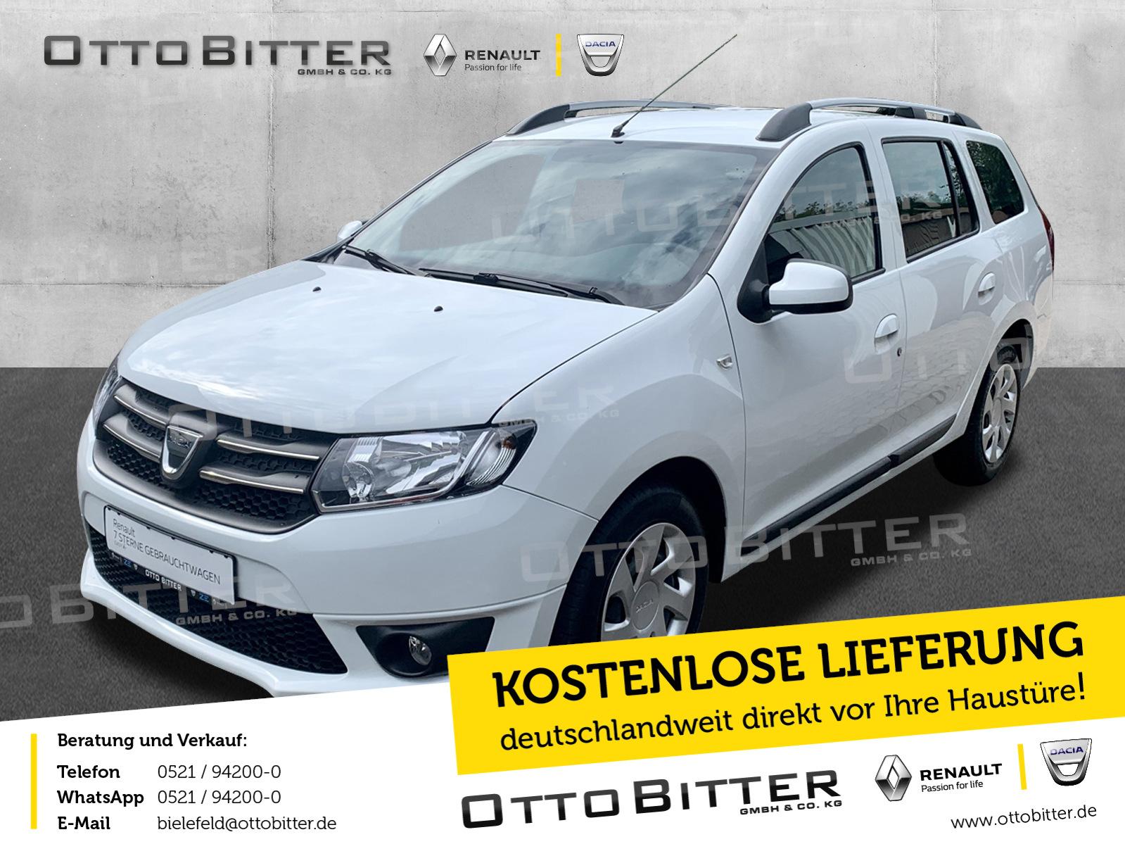 Dacia Logan 1.2 MCV Lauréate KLIMA/ANHÄNGERKUPPLUNG, Jahr 2015, Benzin
