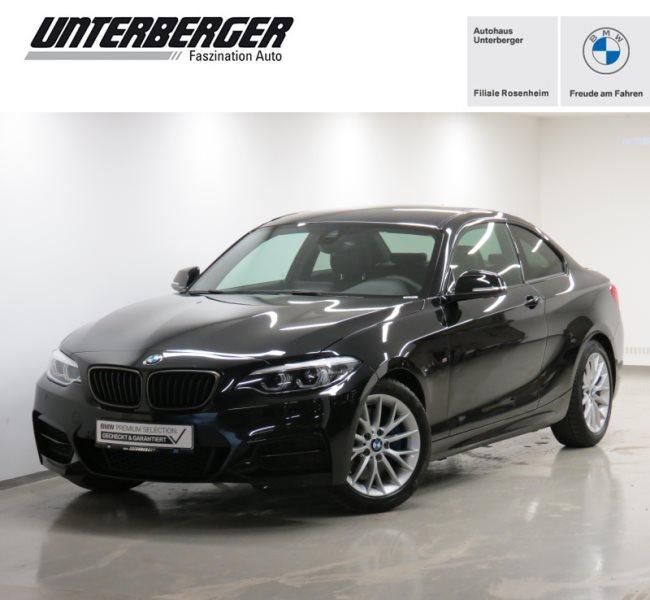 BMW M240i Coupé M Sportparket H&K HiFi Navi Prof. UPE 61.150€, Jahr 2020, Benzin