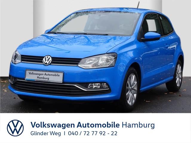 Volkswagen Polo 1.0 Comfortline/Ganzjahresreifen/Klimaanlage, Jahr 2016, Benzin