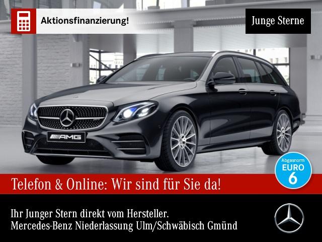 "Mercedes-Benz E 43 AMG T 4M Fahrass.COM.Pano.AHK.Multi.20"", Jahr 2018, petrol"