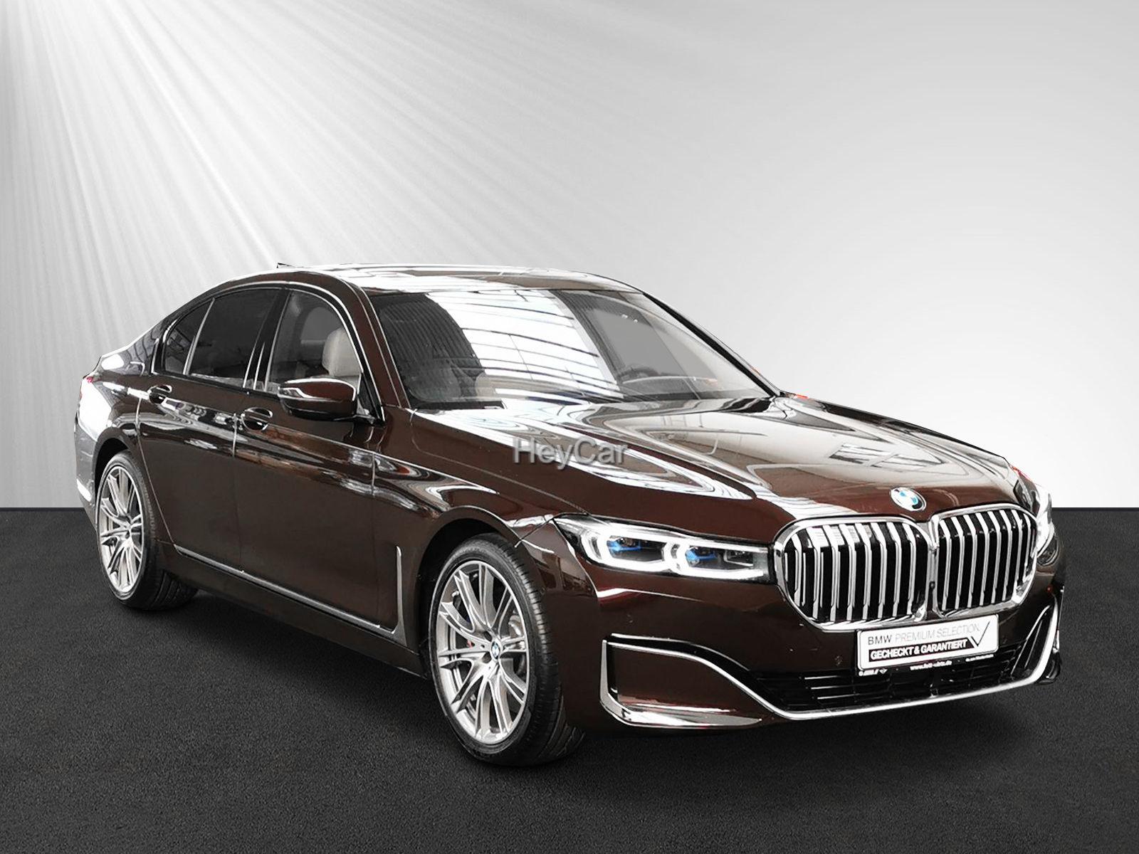 BMW 745e Fond-Ent Sitzbel B&W Leas. ab 949,- br.o.Az, Jahr 2019, Hybrid