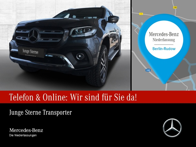 Mercedes-Benz X 250 d 4M Power Edition AHK Comand LED Kamera, Jahr 2018, Diesel