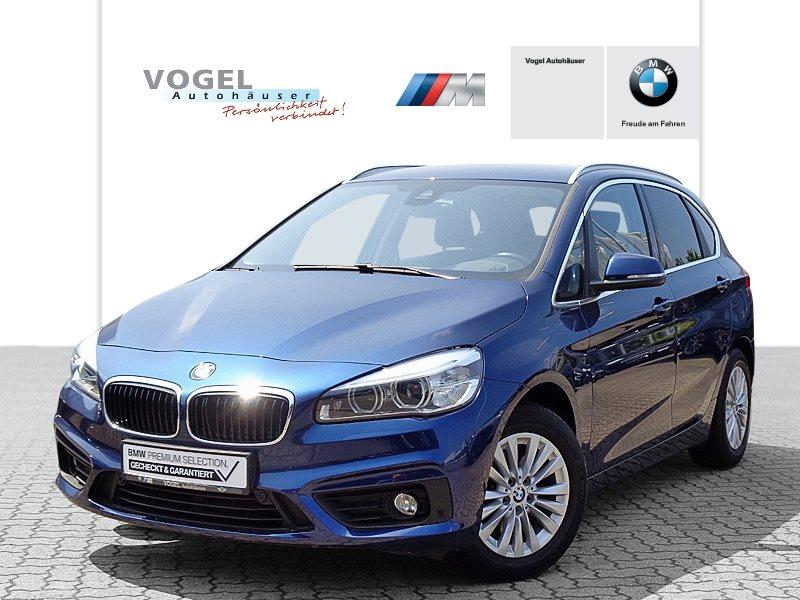 BMW 216d Active Tourer Modell Advantage Euro 6 Navi PDC Parkassistent Klima Shz LED Tempomat Komfortzugang Sonnenschutzverglasung, Jahr 2017, Diesel