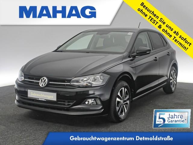 Volkswagen Polo IQ.DRIVE 1.0 TSI Navi ParkLenkAssist Bluetooth BlindSpot FrontAssist ACC 15Zoll 6-Gang, Jahr 2020, Benzin