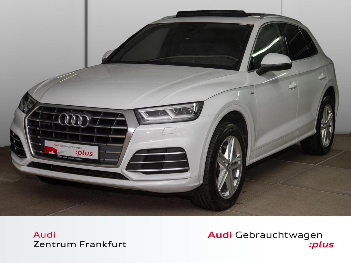 Audi Q5 2.0 TDI quattro S tronic S line Matrix-LED Pa, Jahr 2017, Diesel