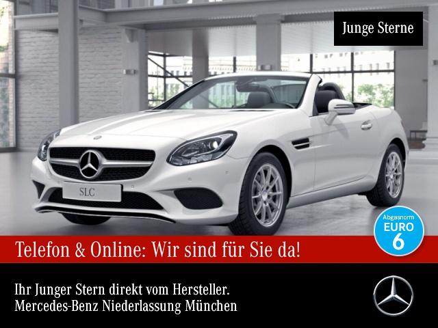Mercedes-Benz SLC 180 Pano Harman Navi Totwinkel Klimaautom PTS, Jahr 2016, Benzin