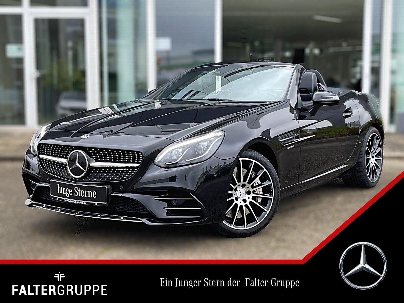 Mercedes-Benz SLC 43 AMG NP 79.944+DISTRO+COMAND+SOUND+MEMORY, Jahr 2018, Benzin