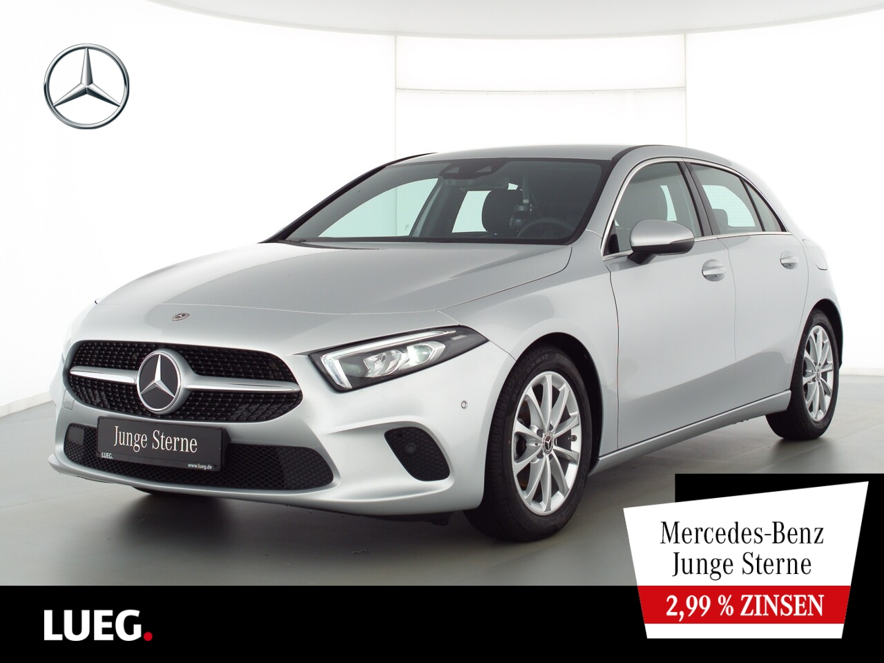 Mercedes-Benz A 180 Progressive+MBUXHighEnd+LED-HP+CarP+ParkAs, Jahr 2020, Benzin