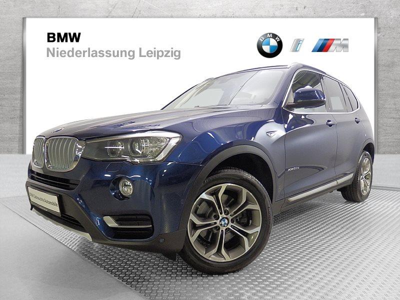 BMW X3 xDrive30d EURO6 xLine Head-Up HiFi Xenon RFK Navi Prof., Jahr 2017, Diesel