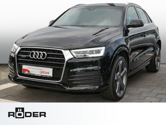 Audi Q3 S Line 2.0 TDI quattro S tronic Navi Leder LED Kamera BOSE Keyless, Jahr 2015, Diesel