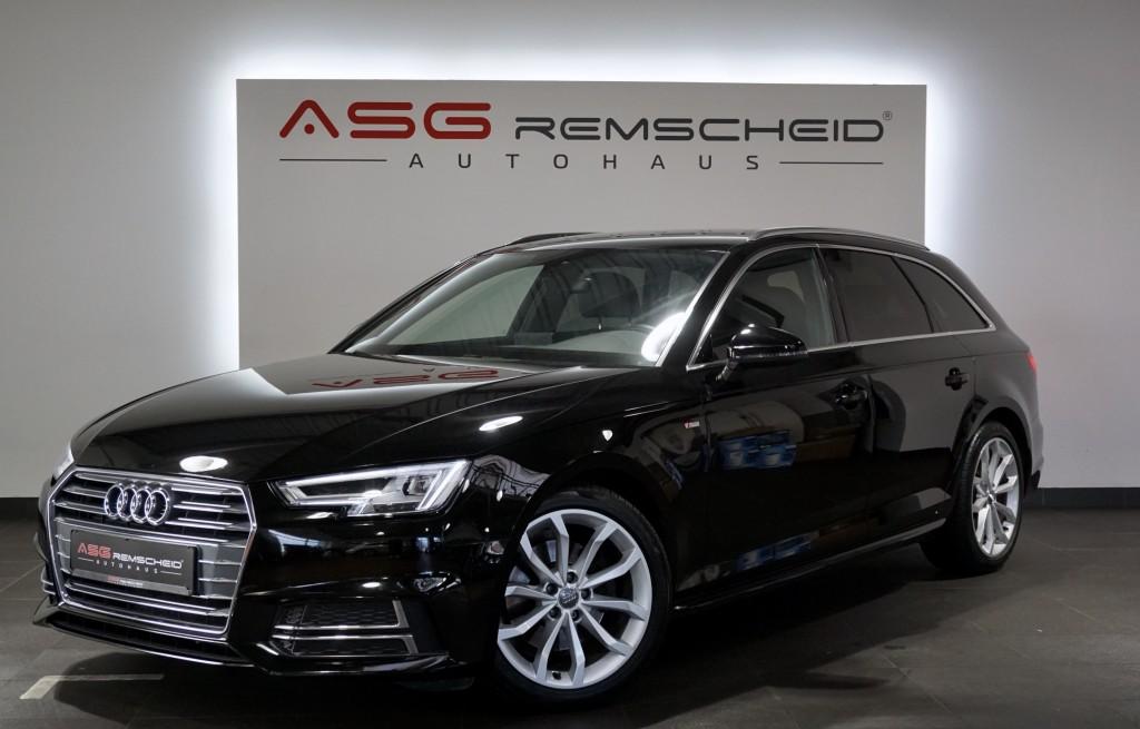 Audi A4 2.0TDI Avant S-Tr. 2x S Line *1.HD *LED *AHK*, Jahr 2017, Diesel