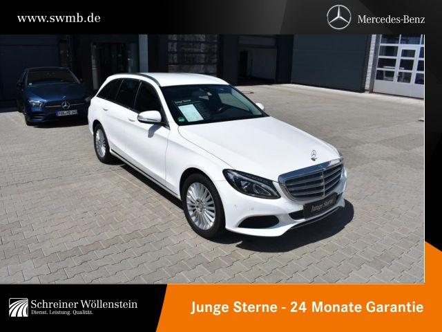 Mercedes-Benz C 300 T *Exclusive*LED*AHK*Navi*PDC*Sitzheizung*, Jahr 2015, Hybrid_Diesel