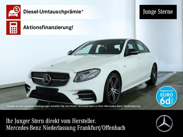 Mercedes-Benz E 53 AMG 4M+ Wide.COMAND.Fahrass.Pano.Multi.360, Jahr 2019, petrol