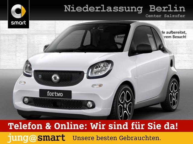 smart fortwo coupé 60kWed prime cool&Media SHZ Pano LED, Jahr 2017, Elektro