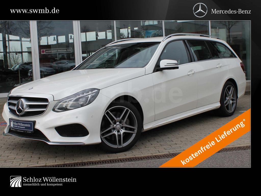 Mercedes-Benz E 400 T 4M AMG DISTRONIC/Massage/Sitzklima/360°, Jahr 2013, Benzin