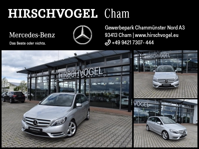 Mercedes-Benz B 180 Sport-Paket+Navi-Vorrüstung+Bi-Xen+PDC+SHZ, Jahr 2014, Benzin