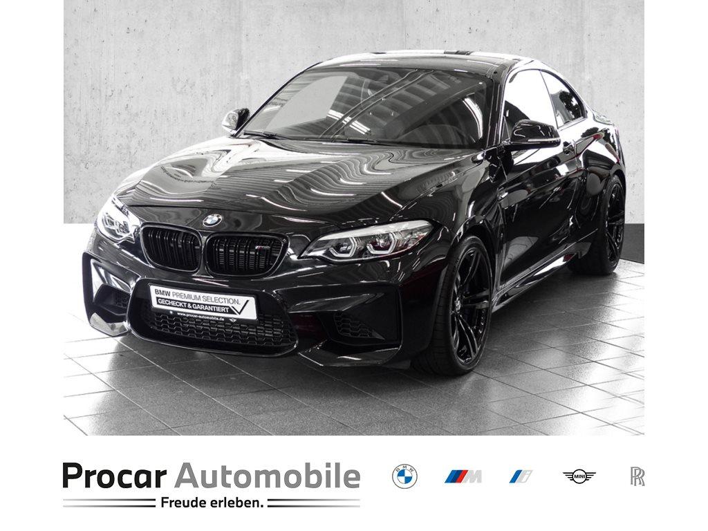 BMW M2 Coupé AUTOM+NAVI+M-DRIVERP+KAMERA+ASSISTENZ, Jahr 2018, Benzin