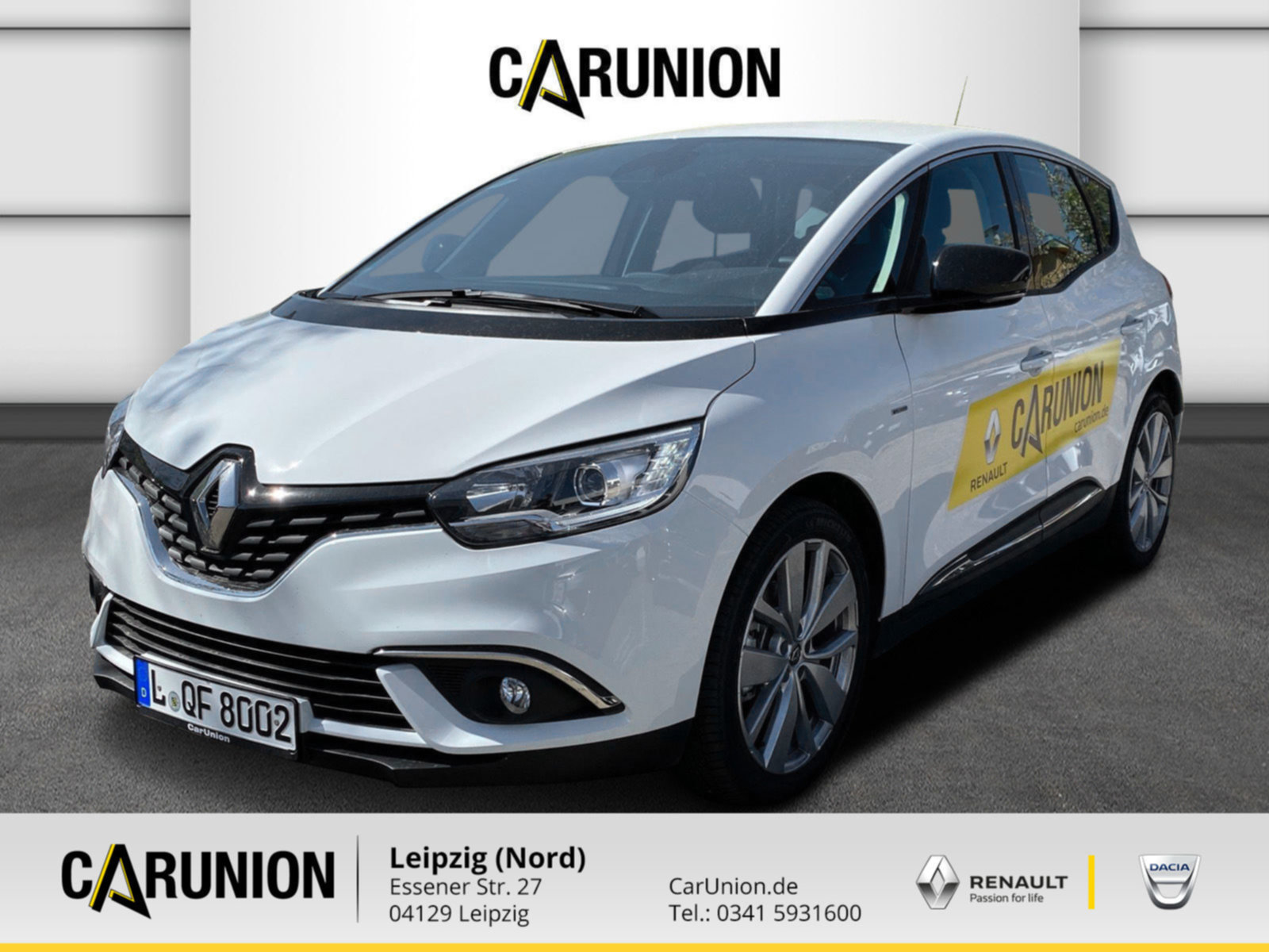 Renault Scenic LIMITED TCe 115 GPF Klimaauto., Jahr 2019, Benzin