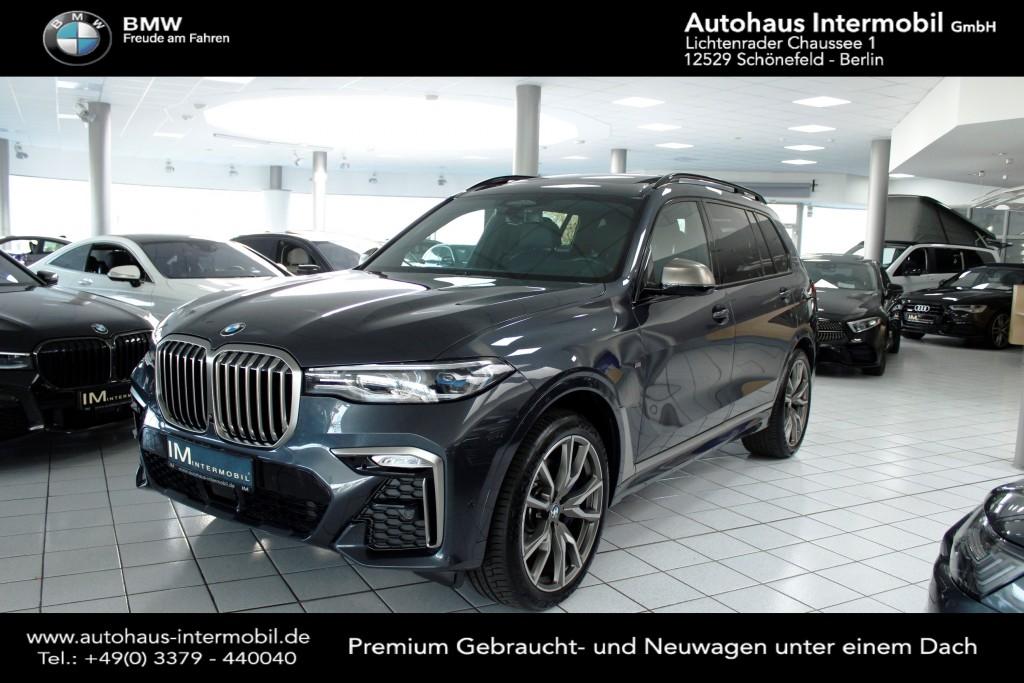 BMW X7 M50d*Laserlicht*HUD*H-K*PanoSKY*Standhzg*360°, Jahr 2019, Diesel