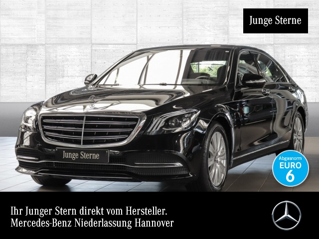 Mercedes-Benz S 560 L Multibeam Burmester COMAND HUD Sitzklima, Jahr 2018, Benzin