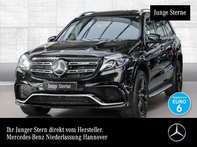 Mercedes-Benz GLS 63 AMG 4M Driversp Perf-Lenk Airmat Stdhzg SHD, Jahr 2017, petrol