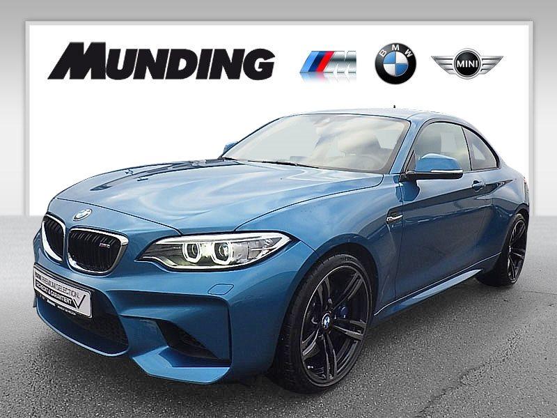 BMW M2 Coupé DKG M Drivers P. HK|HiFi|DAB|Xenon|WLAN, Jahr 2017, petrol