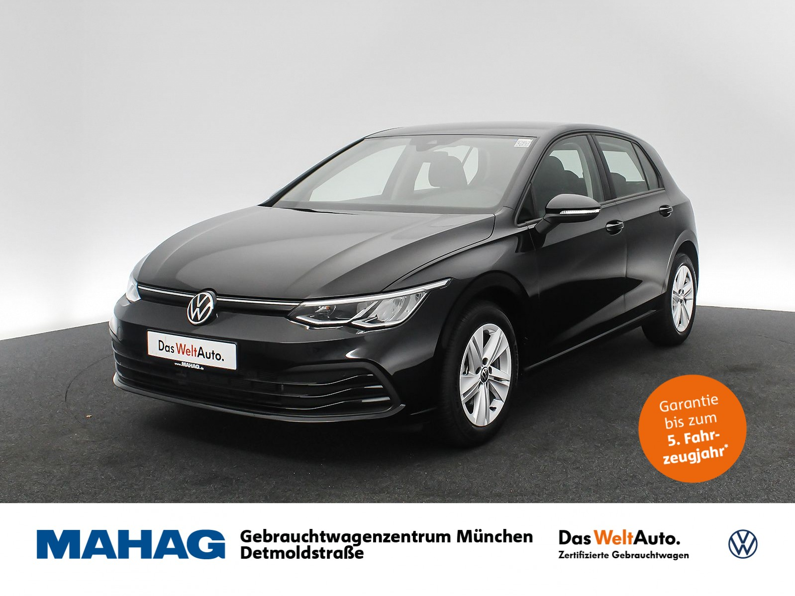 Volkswagen Golf VIII LIFE 1.0 TSI Navi LED Keyless DAB+ Sprachbed. ACC Bluetooth 6-Gang, Jahr 2020, Benzin