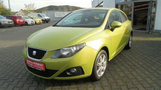 Seat Ibiza SC Reference+Climatronic+LM-Felgen, Jahr 2012, petrol