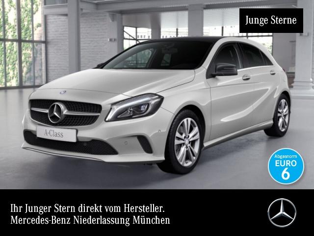 Mercedes-Benz A 200 Urban Pano LED AHK Kamera Navi Spurhalt-Ass, Jahr 2016, Benzin