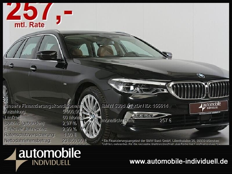BMW 530d Aut. xDr Luxury Line LED Navi ACC Standh Hu, Jahr 2017, Diesel