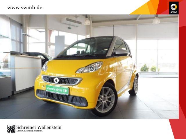 smart fortwo coupé 35kW ED SHZ Klima Servo Alu 65Euro, Jahr 2014, Elektro