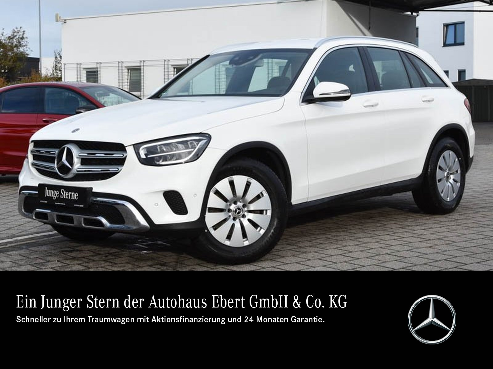 Mercedes-Benz GLC 200 4M 9G+NAVI-PREMIUM+AHK+LED+PTS+EASY-PACK, Jahr 2019, Benzin